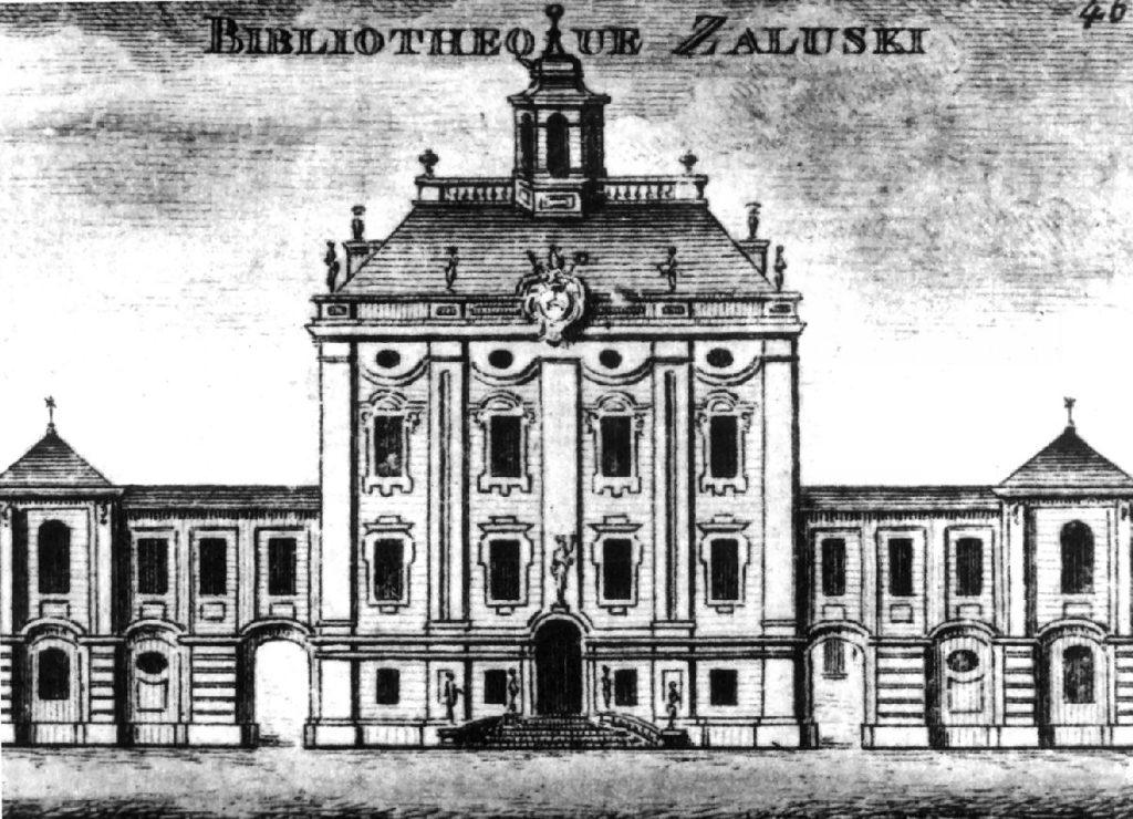 Biblioteca-Załuski-Varsavia