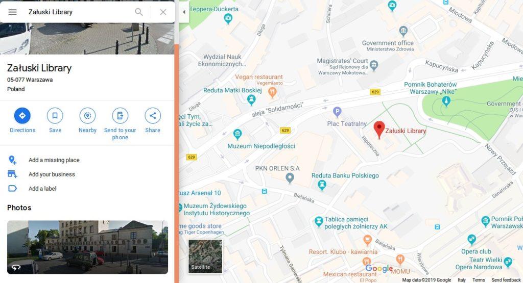 Biblioteca-Załuski-mappa-Varsavia