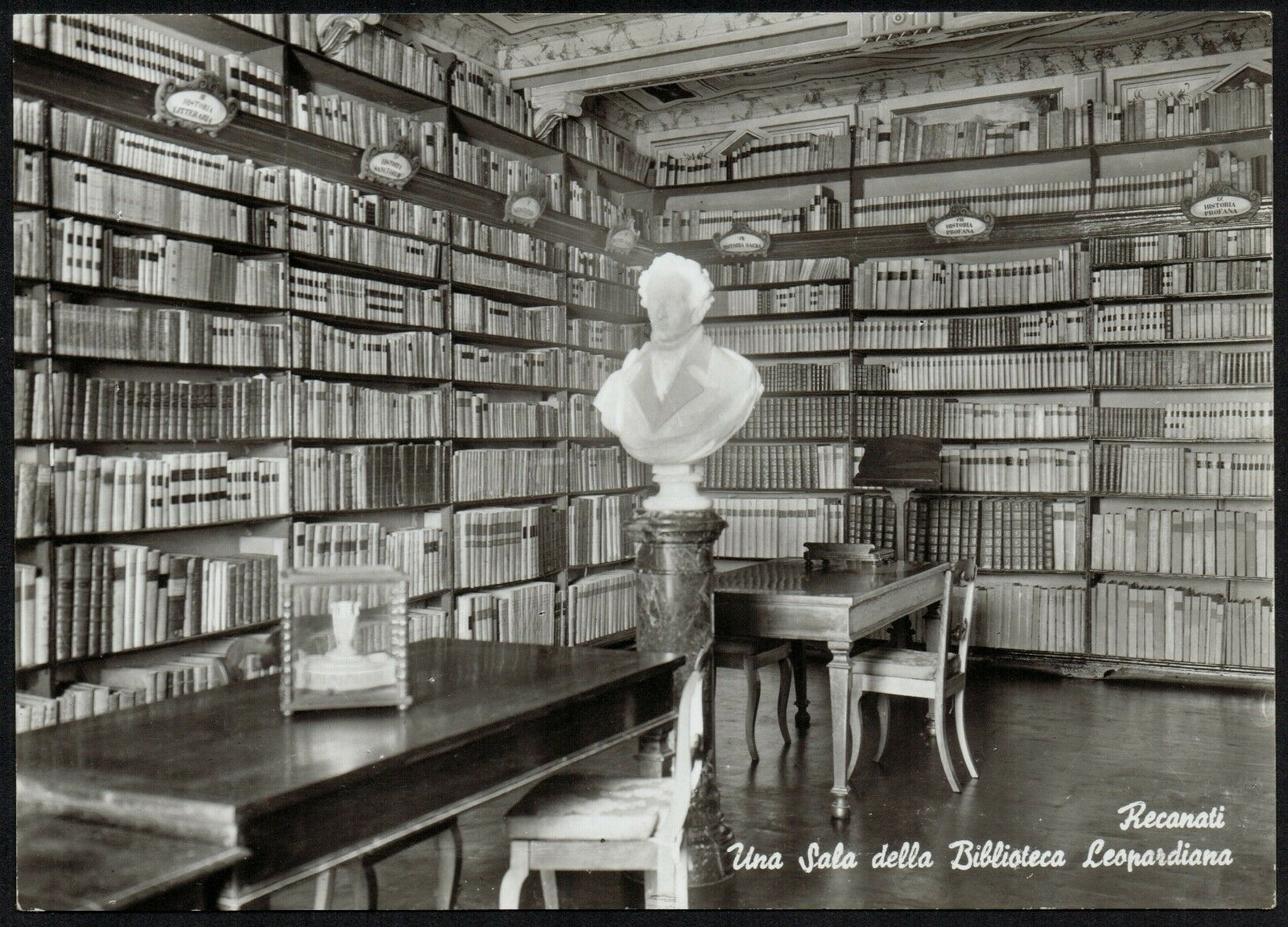 biblioteca-leopardi-cartolina-antica
