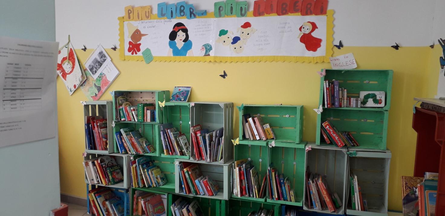 La Biblioteca della Scuola dell'Infanzia Anguillara Sabazia Scalo