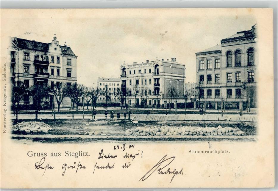 Steglitz 1900 Stubenrauchplatz