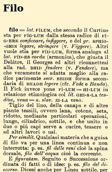 filo-etimologia