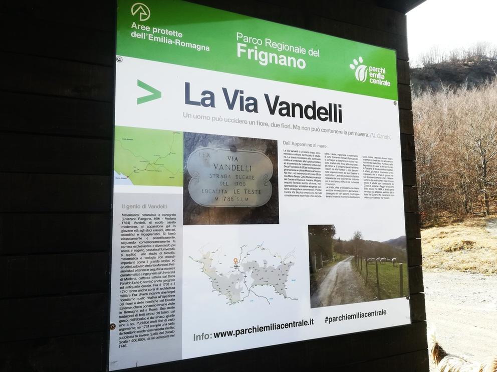 Piccola storia segreta della via Vandelli