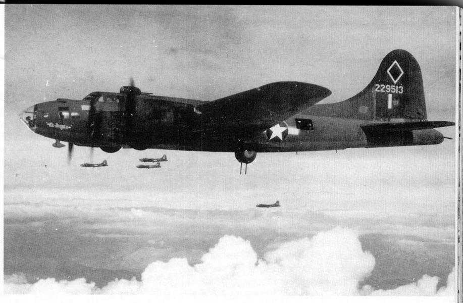 Bombardiere B17 americano