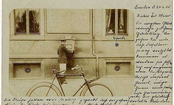 La prima cartolina della storia