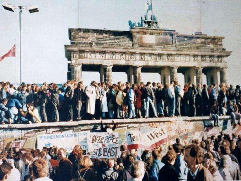 9 novembre 1989: la caduta del muro di Berlino